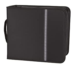 Case Logic ENW-352 352 Capacity Nylon CD Binder -Black