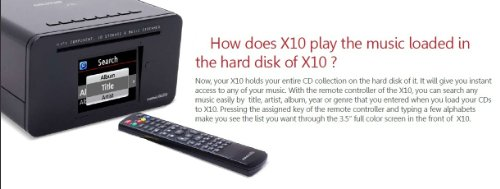 Cocktail Audio X10 1TB Network CD Recorder  &  Music Player