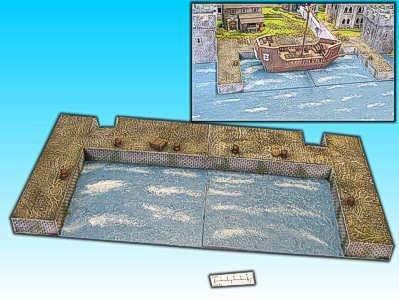 Finished Terrain: Harbor (Ship Port)