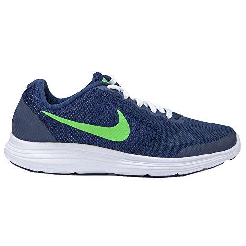 Nike-Deep-Royal-Blue-VLTG-Green-WHT-Zapatillas-de-running-Nios