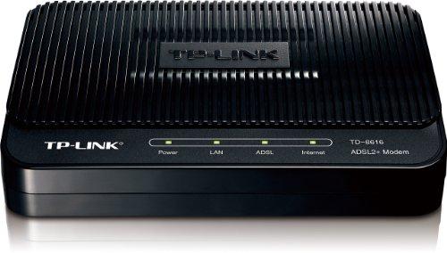 TP-Link TD-8616 ADSL2+ Modem (Black)