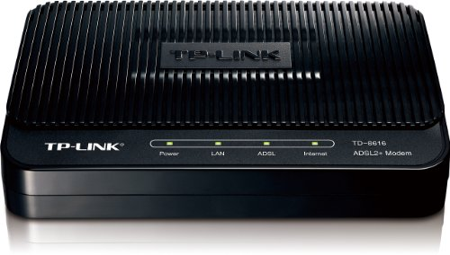 TP-Link ADSL2+ Modem, Up to 24Mbps Downstream Bandwidth, 6KV Lightning Protection (TD-8616) (Pace Dsl Gateway Model 4111n compare prices)