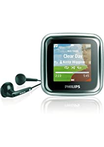 Philips SA 2940 GoGear Spark Tragbarer MP3-Player 4 GB (USB 2.0)
