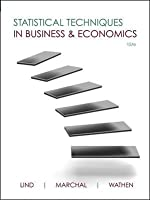 Statistical Techniques in Business and Economics, 15th Edition Front Cover
