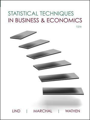 Statistical Techniques in Business and Economics...