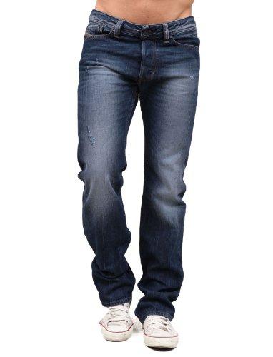 Diesel Viker Rkz8 Straight Blue Man Jeans Men - W33 L32