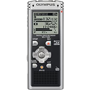 Olympus WS-710M Digital Voice Recorder 142635 (Black)