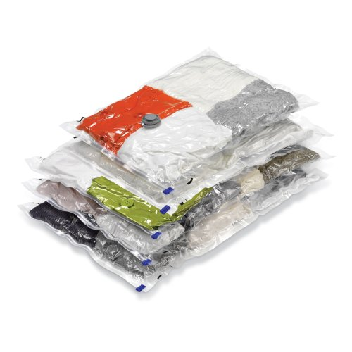 Honey-Can-Do Vacuum-Seal Storage Bags, Set of 5