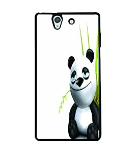 PRINTSWAG CUTE PANDA Designer Back Cover Case for SONY XPERIA Z