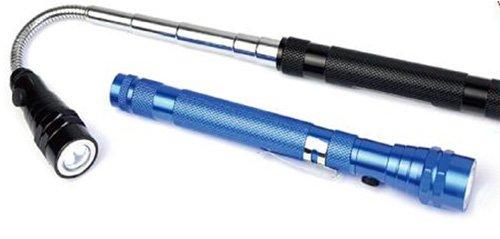Telescoping Magnetic Led Flashlight 3 Led Telescopic