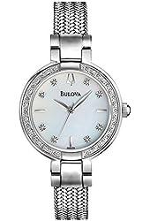 Bulova Women's 96R177 Diamond Case Watch Set