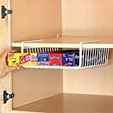 Under Shelf Wrap Rack in WHITE model 1983W from Organize It All