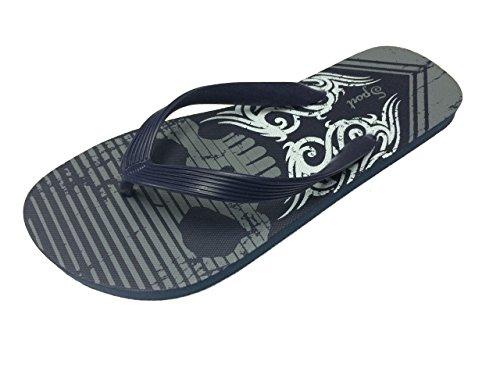 b287b24772b54b Skull Men s Rubber Slide Sandal Slipper Comfortable Shower Beach Shoe Slip  On. by gear one source