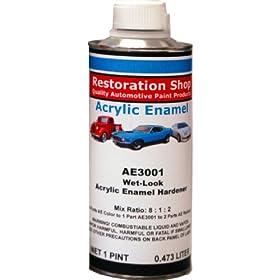 new acrylic enamel wet look hardener auto car paint. Black Bedroom Furniture Sets. Home Design Ideas