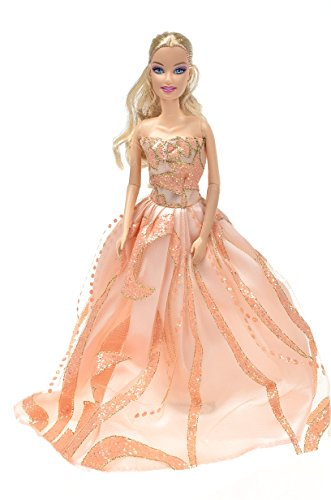 Banana Kong Girl Doll's Clothing Evening Dress Set ,2 Dresses