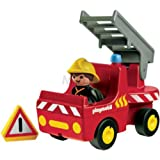 Playmobil 1.2.3 6716 Fire Engine