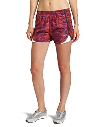 Spalding Women's Woven Running Short, Warm Combo/Granite, Small