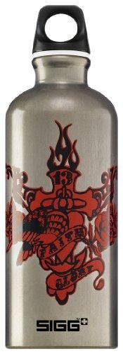 Sigg Water Bottle, Faith & Glory, 0.6 Liter front-955190