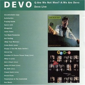 DEVO - Q: Are We Not Men? A: We Are Devo/DEV-O Live - Zortam Music