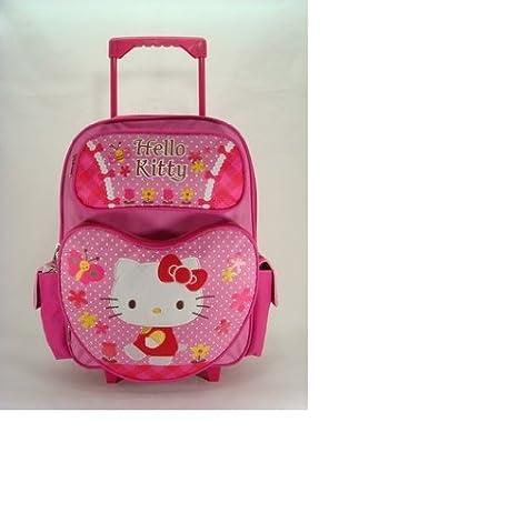 Rolling Backpack - Hello Kitty - Garden (16 Large School Bag}