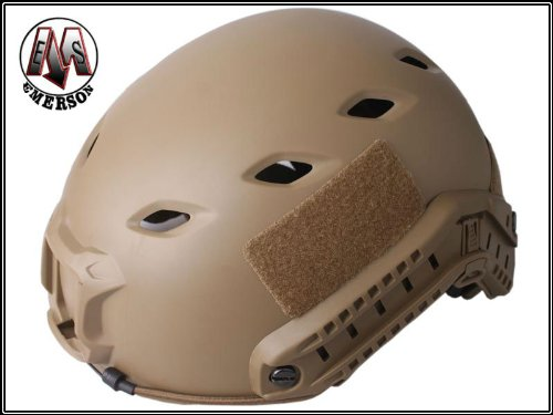 Military Tactical Gear Airsoft Paintball Climbing Protective Combat Fast Helmet Base Jump BJ Type Dark Earth Color