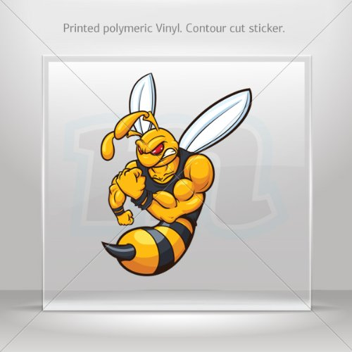 decal-stickers-bee-hornet-wasp-vespa-tablet-laptops-weatherproof-sport-3-x-222-inches