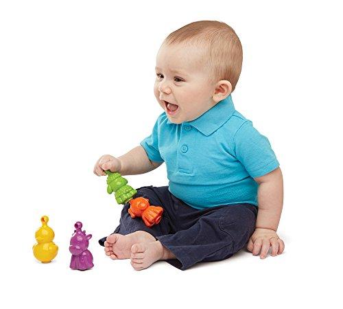 Earlyears Farm Friends Pop-It Beads Baby Toy - 1