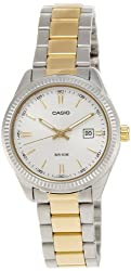 Casio Enticer Analog Silver Dial Womens Watch - LTP-1302SG-7AVDF (A478)