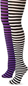 MUSIC LEGS Women's Plus-Size 2 Pack O…