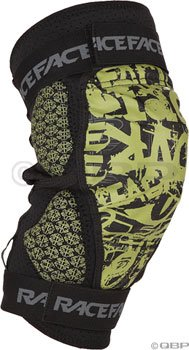 Race Face Dig Knee Pads XL, Green/Black