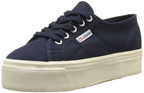 Superga 2790Acotw Linea Up And Down, Sneaker, Donna, Blu (933 Navy), 38