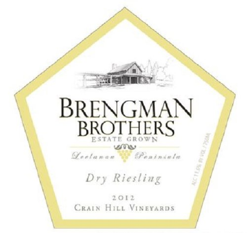 2012 Brengman Brothers Dry Riesling 750 Ml