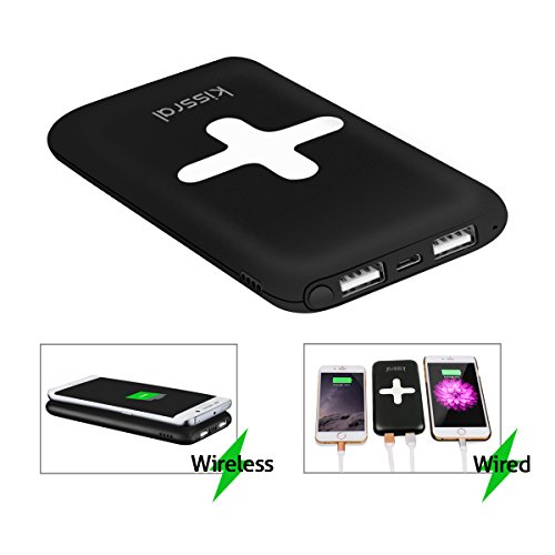 7000mAh Portable Wireless Charger Power Bank 2 in 1 - Import It All