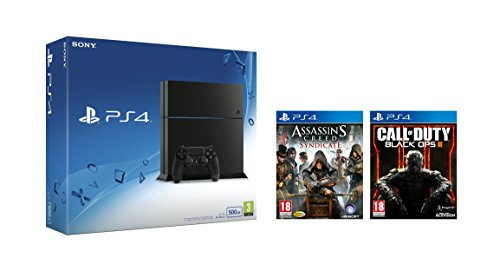No te pierdas PlayStation 4 de 500GB + Call of Duty: Black Ops III + Assassin's Creed: Syndicate