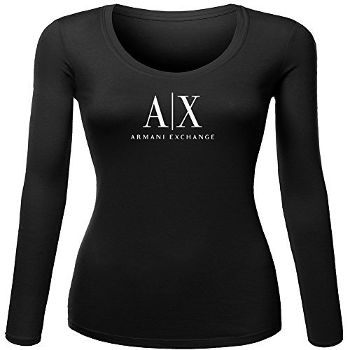 Pop Armani Exchange For Ladies Womens Long Sleeves Outlet