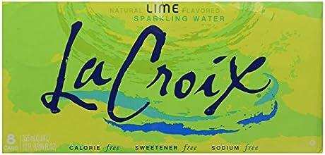 La Croix Sparkling Water Lime 8 pk
