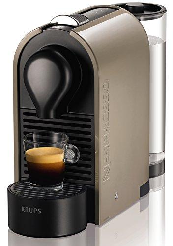 Nespresso U XN250A macchina per caffè espresso di Krups, colore Pure Grey