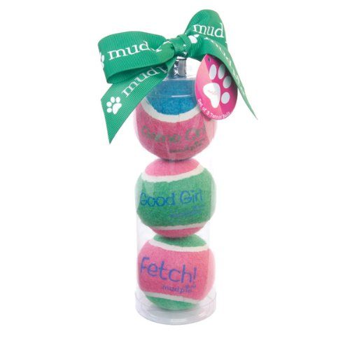Tennis Ball Dog Toy Set - Good Girl