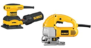 DEWALT DW317SA Corded Jig Saw and Sheet Sander Combo Kit