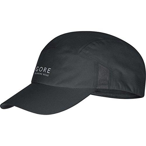 gore-running-wear-casquette-de-course-impermeable-et-legere-gore-tex-air-gt-taille-unique-noir-hgair