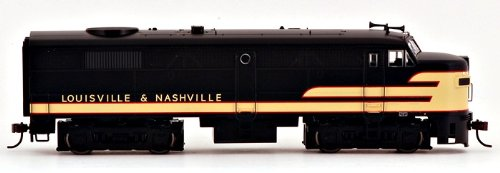 Bachmann Louisville and Nashville HO Scale Alcofa2 Diesel Locomotive - DCC Sound Value On Board