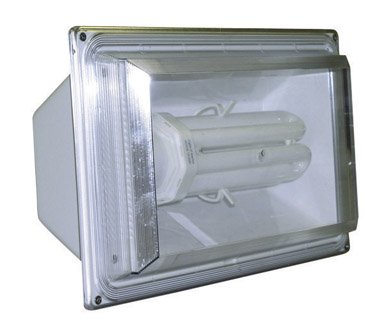 Lights of America 9265 65-Watt 4,000 Lumens 10,000 Hour Bulb Lifetime White Fluorescent Security Flood Light
