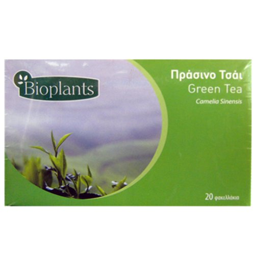 Bioplants Green Tea Sachets 30 g (Pack of 4)