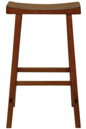 Saddle seat bar stool 29 5 rustic oak cheap bar stools - Rustic bar stools cheap ...