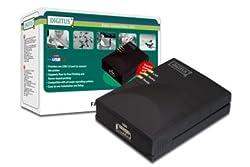 Digitus DN-13003-W Fast Ethernet print Server, Usb 2.0