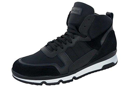 Ugo Arci - Sneakers a collo alto - Ugo Arci Uomo - 55C/636/85NB - 43, Nero