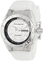 TechnoMarine Unisex 110065 Cruise Sport Snow 3 Hands Mirror Dial Watch