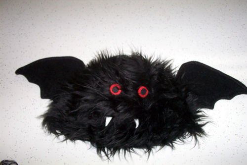 Child Adult Furry Bat Hat Costume Prop Accessory Vampire Funny