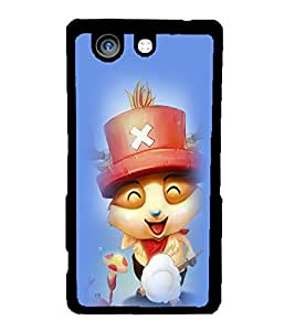 Fuson 2D Printed Cartoon Designer back case cover for Sony Xperia Z4 Compact - D4564