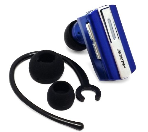 Importer520(Tm) Wireless Bluetooth Bt Headset Headphone Earphone Earpiece With Dual Pairing For Lg Optimus G Pro E980 (At&T) - Blue